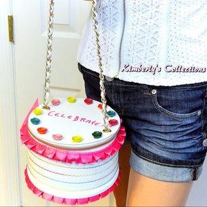 Betsey Johnson Bags - Sold Out! Betsey Johnson Cake Handbag Purse NWT